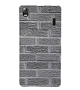 Classic Rock Pattern 3D Hard Polycarbonate Designer Back Case Cover for Lenovo K3 Note
