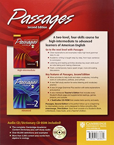 Passages 1 Student's Book with Audio CD/CD-ROM