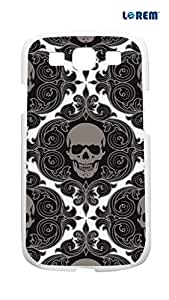 Lorem Back Cover For Samsung Galaxy S3 (i9300)-Multicolor-L15490