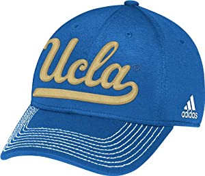 Buy adidas UCLA Bruins Light Blue Structured Flex Fit Hat by adidas