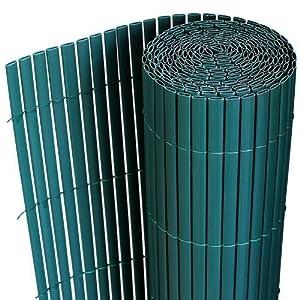 pvc sichtschutzmatte 150x300cm gr n sichtschutz windschutz gartenzaun balkon zaun. Black Bedroom Furniture Sets. Home Design Ideas