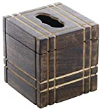 Tissue Box Cover Cyber Monday Sale / Deals 2016 - Simple & Sober SouvNear Upright Square Wood Kleenex Tissue Box Cover / Dispenser for Facial Tissues