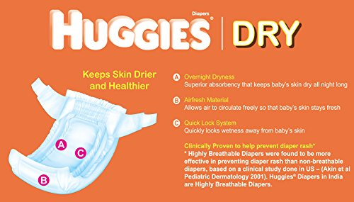 Huggies Snug and Dry Diapers Jumbo Pack Size 4 31 Ct - 1