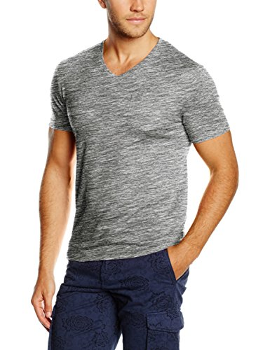 Celio Vebasic, T-Shirt Uomo, Grigio, Medium