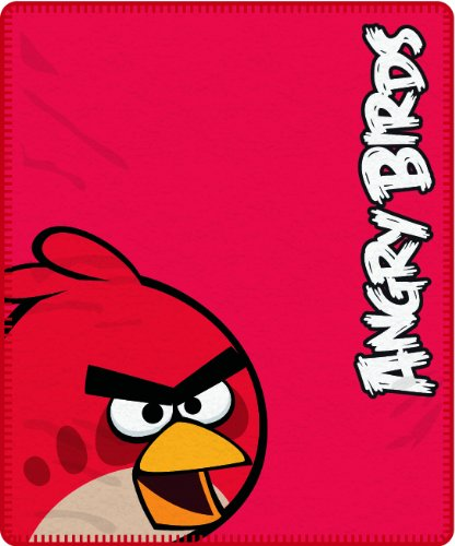 Angry Birds Red Fleece Blanket Brands Panel front-14476
