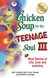 Jack Canfield Chicken Soup for the Teenage Soul III: More Stories of Life, Love and Learning