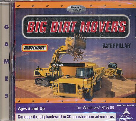 Matchbox Cat Big Dirt Movers (Jewel Case)