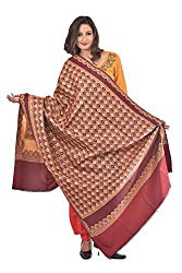 Weavers Villa - Womens Chashme Bulbul Maroon Shawls ,Stoles