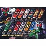 ガシャポン 仮面ライダーW DXサウンドカプセルガイアメモリ6&ライダーメモリ レア2種入り全12種フルセット