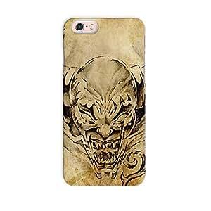 ArtzFolio Tattoo Art Sketch Of A Devil : Apple iPhone 6S Matte Polycarbonate Original Branded Mobile Cell Phone Designer Hard Shockproof Protective Back Case Cover Protector