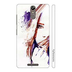 Enthopia Designer Hardshell Case Mysterious Girl Back Cover for Gionee Elife S6S