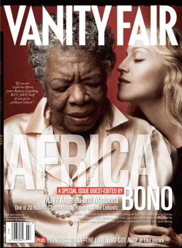 Vanity Fair July 2007 Africa Issue, Angelou/Madonna Cover