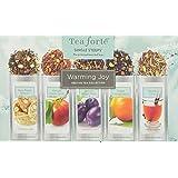 Tea Forte Warming Joy Single Steeps Sampler