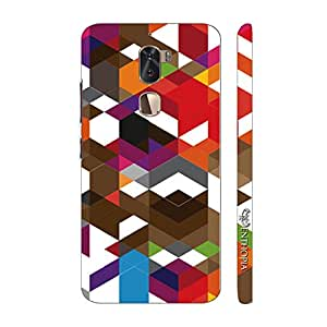 Enthopia Designer Hardshell Case Abstract Art 2 Back Cover for LeEco Cool 1