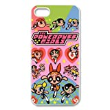 Cute cartoon anime powerpuff girls hard plastic case for Iphone 5/5S