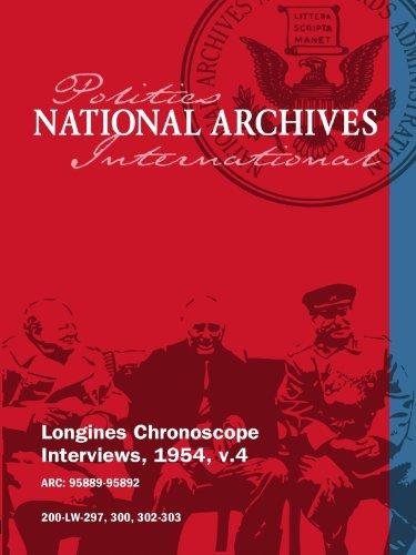 Longines Chronoscope Interviews, 1954, v.4: KENNETH B. KEATING, HERMAN TALMADGE movie