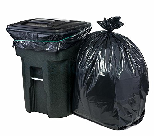Plasticplace 95 Gallon Trash Bags, 1.5 Mil, 61