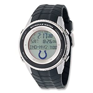 Mens NFL Indianapolis Colts Schedule Watch by Jewelry Adviser Nfl Watches