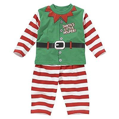 Santa's Little Helper! Elf Christmas Dress Up Boys Girls Pyjamas