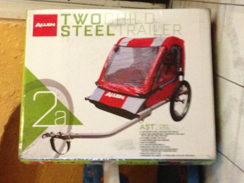Review Allen Sports Steel Bicycle Trailer