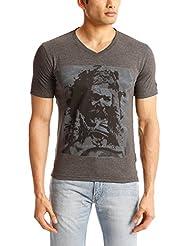 Gant Men's Band Collar Cotton T-Shirt - B00OE1E52A
