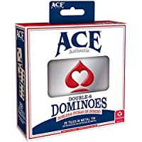 Ace Double Six Dominoes Card Game