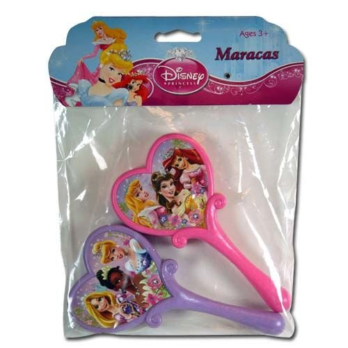 2pk Disney Princess Maracas