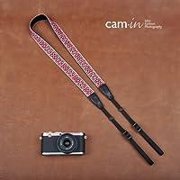 カムイン おしゃれ な 刺繍 レース カメラ ストラップ かわいい 女子 一眼レフ ミラーレス F0604-CX8452