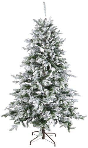Kaemingk 688641 Noble Pine , beschneit, PE - PVC Nadel Mix, innen, Höhe 180 cm thumbnail