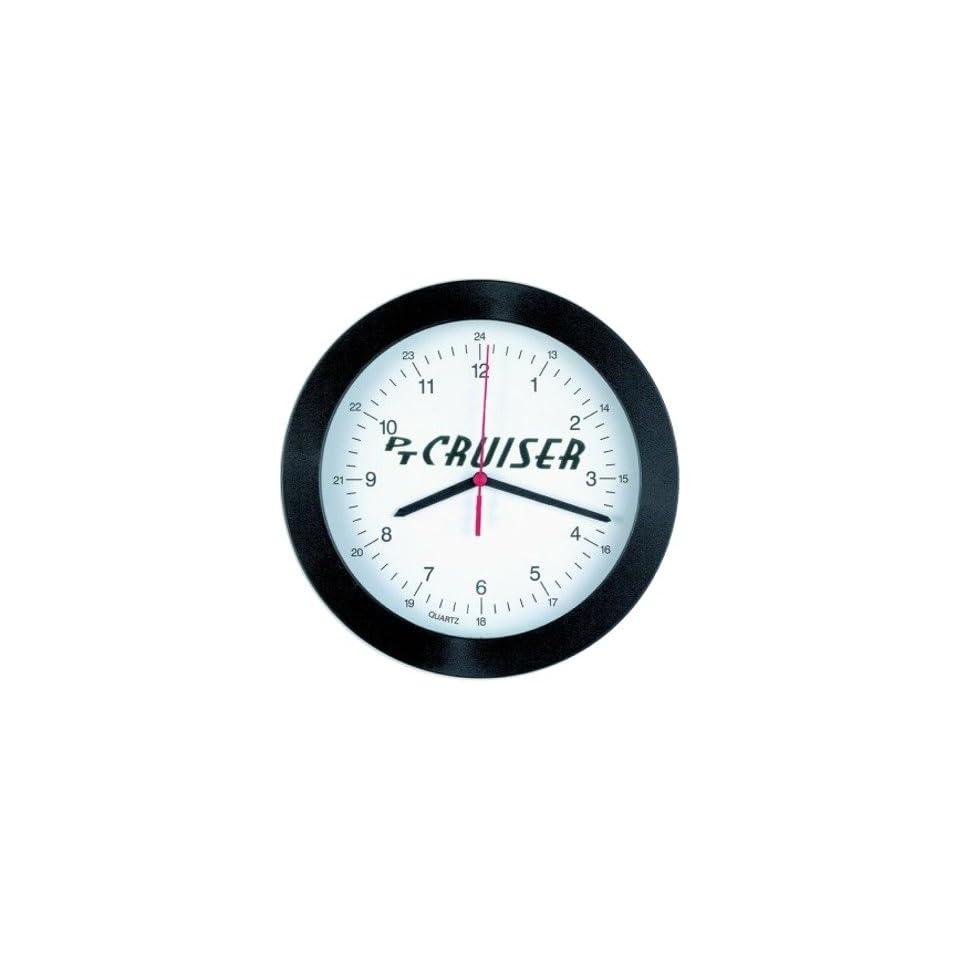 Autotecnica 840157 chrysler pt cruiser logo clock