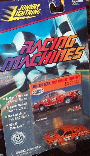 Johnny Lightning Racing Machines TAMELESS TIGER 1963 Pontiac Tempest