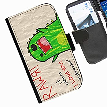 4. Hairyworm - Funny Nokia Lumia 1520 leather side flip wallet cell phone case