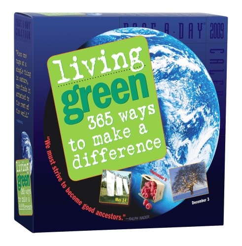 Living Green Page-A-Day Calendar 2009