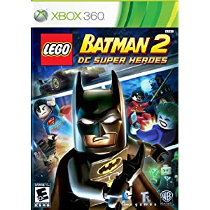 LEGO Batman 2 DC Super Heroes XBox 360 Video Game