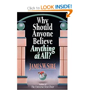 Why Should Anyone Believe Anything at All?