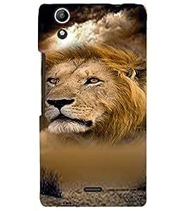 PRINTVISA Tiger Case Cover for Micromax Canvas Selfie 2 Q340