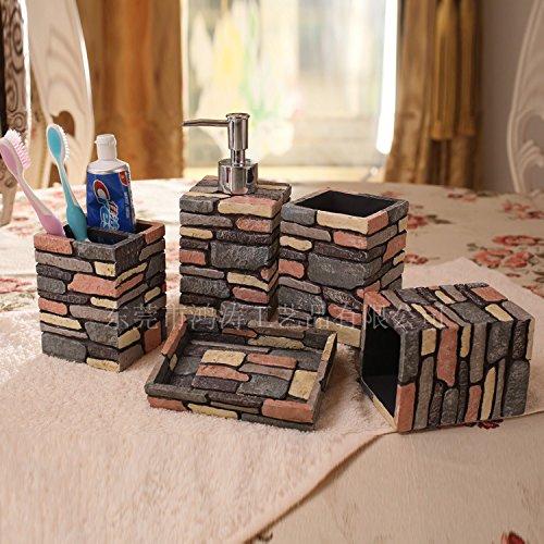 queens-bain-de-resine-5-pieces-du-village-de-style-americain-kit-de-bain-bain-de-bouteille-5-pieces-
