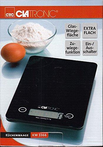 Balance de cuisine KW 3366 noire