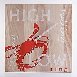 Tide Clock - Handmade - Crab - Beach Lover