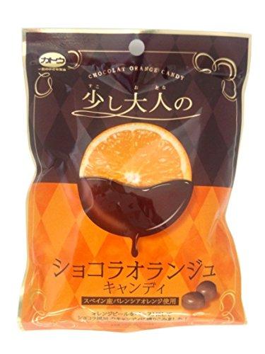 加藤製菓 少し大人のショコラオランジュキャンディ 100g×10袋