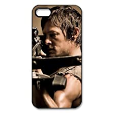 buy Hot Tv Show The Walking Dead Fanhion Daryl Dixon Best Protection Cover Case For Iphone 4 & 4S Case And Dust Plug,Iphone 4 & 4S