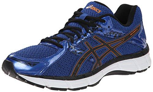 ASICS Men's Gel Excite 3 Running Shoe, Blue/Black/Orange, 10.5 M US