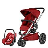 Quinny Buzz Xtra Red Rumour and Pebble Car Seat