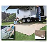 Camco 42812 Gray RV Awning Leisure Mat