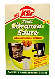 K2r Reine Zitronensäure 5x50 g
