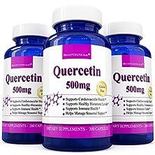 buy Boostceuticals Quercetin 500Mg Antioxidant Antihistamine Immune Support 200 Count