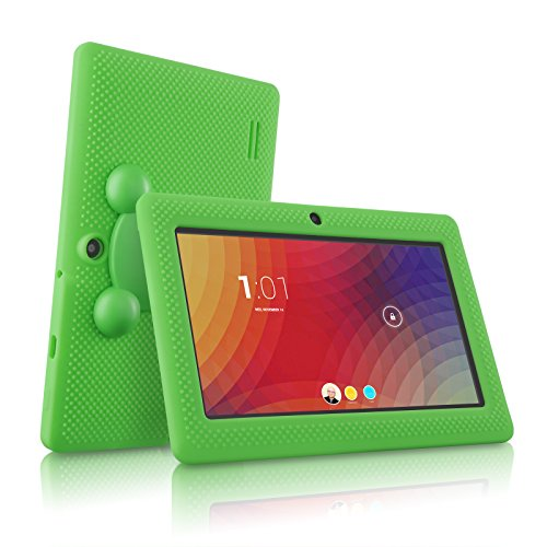 LillyPad Jr.® Kids Tablet with Exclusive App Suite and Parental Controls - Android 4.4 KitKat and Bluetooth 4.0 -Vibrant Green