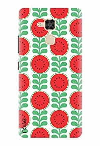 Noise Designer Printed Case / Cover for Asus ZenFone 3 Max ZC520TL / Patterns & Ethnic / Healthy red Design