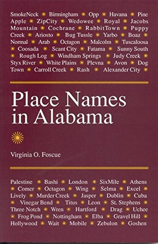 Place Names in Alabama