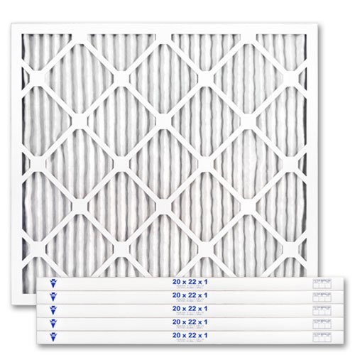 "20"" X 22"" X 1"" MERV 13 Pleated Furnace Filter, 6-Pack"